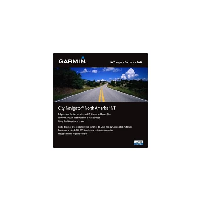Garmin City Navigator 010 11546 50 Land Map   North America   United States Of America, Canada, Mexico, Puerto Rico, Bahamas