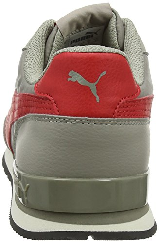 Basses Red ribbon Adulte Gris Elephant Puma 07 Runner V2 Skin Mixte St NL Sneakers w6fqBHfT