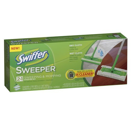 Swiffer Sweeper 2 In 1 Mop And Broom Floor Cleaner Starter Kit