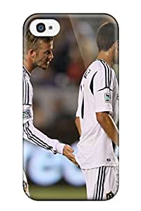 New Style Slim Fit Tpu Protector Shock Absorbent Bumper David Beckham Soccer Case For Iphone 4/4s