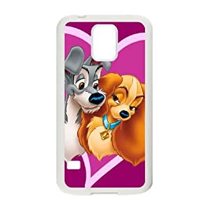 Lady And The Tramp Samsung Galaxy S5 Cell Phone Case White 218y-064786