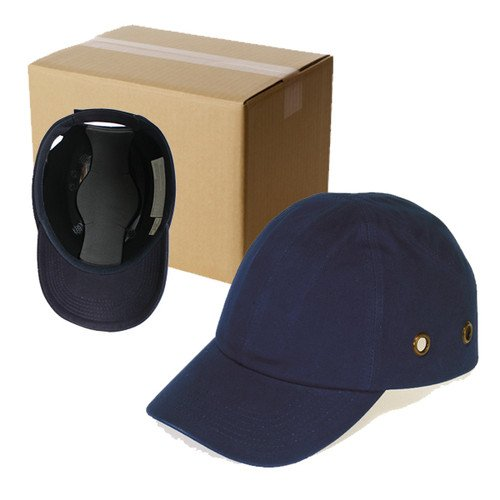 20 Blue Baseball Bump Caps - Lightweight Safety hard hat head protection Cap by Lucent Path (Image #1)