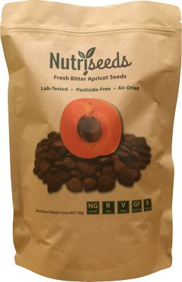 Fresh Bitter Raw Apricot Seeds | 100% Natural | 2LB Bag ...