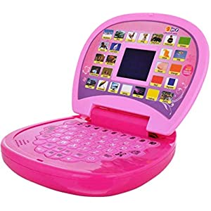 Luxula Pink Educational Kids Laptop...