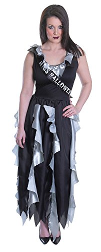 Bristol Novelty AC748 Zombie Prom Queen Adult (UK Size 10 - 14) -