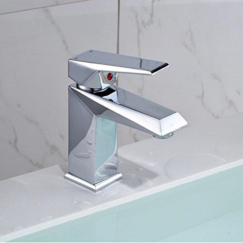NewBorn Faucet Küche oder Badezimmer Waschbecken Mischbatterie Einzigen Griff auf Voller Kupfer Kunst Waschbecken Kaltes Wasser Höhe Mischbatterien