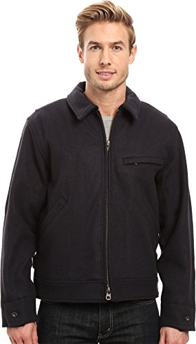 Filson  Men's Mackinaw Work Jacket Navy Outerwear