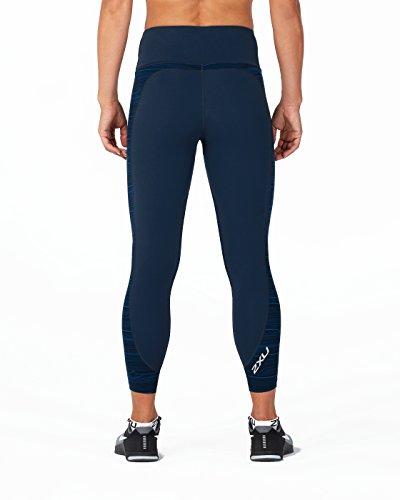 Hi blacklapisbluewaves Collants Estateblue Comp Femme Fitness 2xu rise 8 7 gZw4xSCaqn