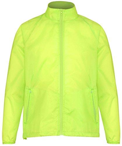 MAKZ Damen Mantel Gelb LcNpC