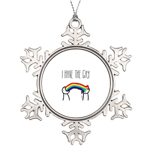 Ideas For Decorating Christmas Trees I have the gay meme Halloween Snowflake Ornaments -