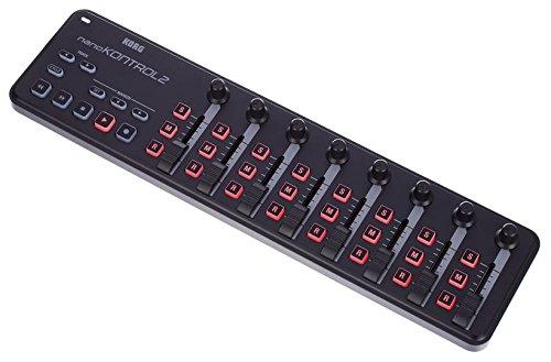 Korg nanoKONTROL2 Slim-Line USB Control Surface in Black - Image 2
