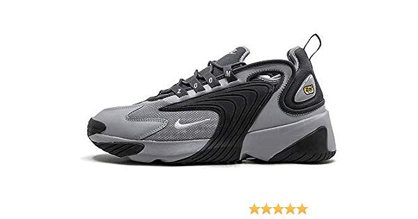 Nike Men's Zoom 2K Sneakers, Wolf Grey/White-Dark Grey (US 13)