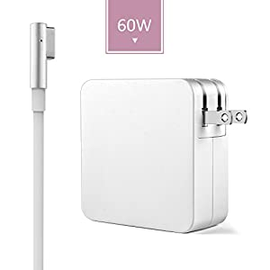 Macbook Charger Replacement 60w L-Tip Power Adapter Charger for Macbook and 13-inch Macbook Pro