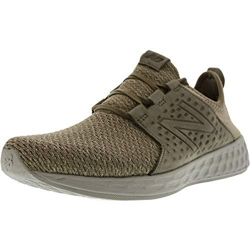 New Balance Men's Fresh Foam Cruz Running Shoe,military urban grey/stone grey,10 D(M) US - New Balance Tie
