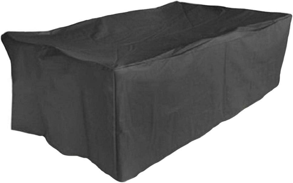 Anpassbar 20 Gr/ö/ßen WUZMING-Gartenm/öbel Abdeckung Draussen Regenfest Sonnencreme Tisch- Und Stuhlabdeckung Polyester Rei/ßfestigkeit Color : Black, Size : 80x66x100cm