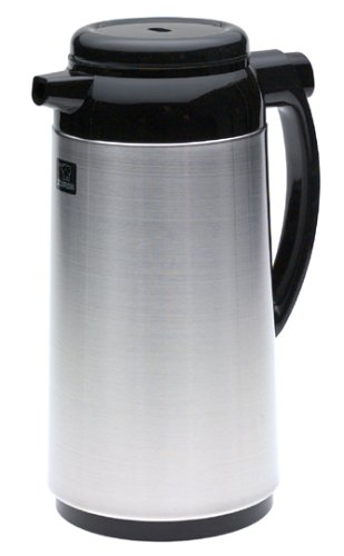 Zojirushi Premium Thermal 1-Liter Carafe, Brushed Stainless Steel