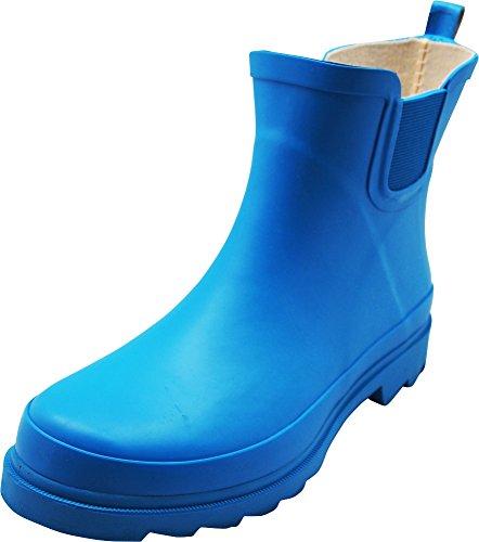 - NORTY - Womens Ankle High Matte Finish Rain Boot, Cobalt 40274-10B(M) US