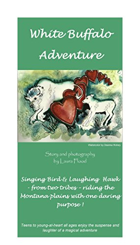 """""""White Buffalo Adventure"""" A white buffalo cow stirs up tribal conflict, thwarted by the ingenuity of a courageous brave and maiden."""