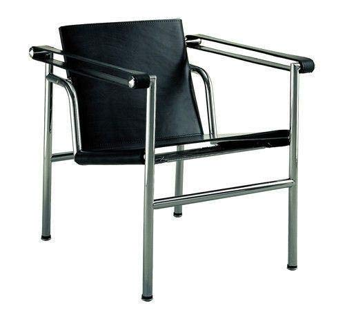 (Le Corbusier Basculant Sling Chair LC1 Black)