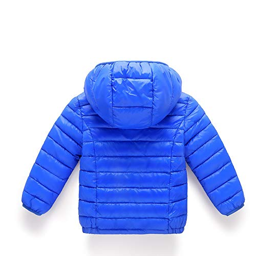 Azul De Ropa Otoño Abrigo Abajo Invierno Chaqueta Niñas Bebé Malloom PpwYqv