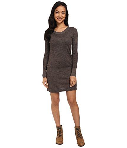 Smartwool Women's Tabaretta Sweater Dress Chocolate Heather Dress XL by SmartWool