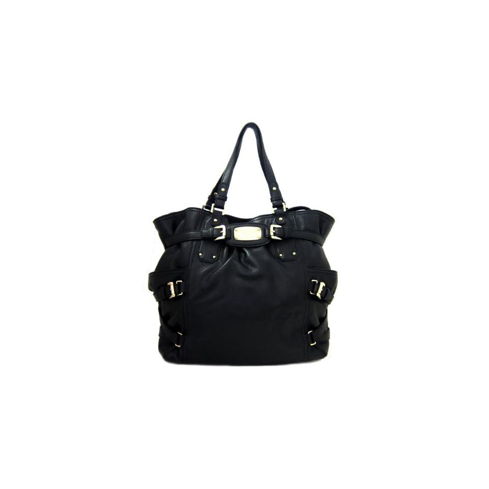 Michael Kors Gansevoort Leather Tote Bag, Black
