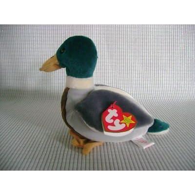 TY BEANIE BABY Mallard Drake Duck Named JAKE THE DRAKE by TY: Toys & Games [5Bkhe1104207]