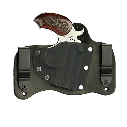 FoxX Holsters Bond Arms Snake Slayer .45 Colt/410 in The Waistband Hybrid Holster Tuckable, Concealed Carry Gun Holster ()