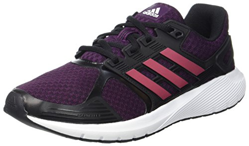 adidas Damen Duramo 8 W Laufschuhe Rot (Red Night/Ruby Metallic/Core Black)
