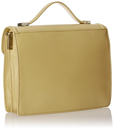 RANDALL Bag LOEFFLER Rider Gold Natural Medium Satchel ASddWTq