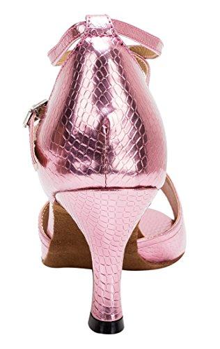 TDA - Zapatos con tacón mujer 7.5cm Heel Pink