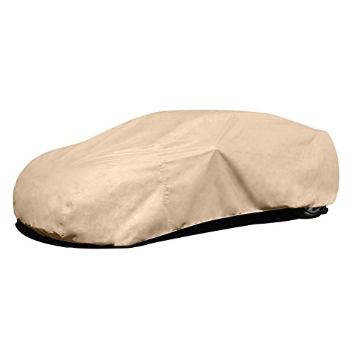 Budge A- feet Protector IV Cover Fits Cars up to 19' (4 Layers, Tan)
