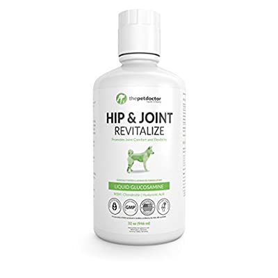 The Pet Doctor's All-Natural Liquid Glucosamine, Advanced Hip and Joint Formula - 32 Fluid Ounces from The Pet Doctor Supply Co.