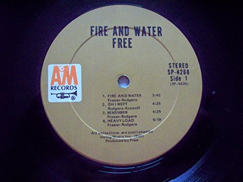 """Search : 45vinylrecord Fire And Water LP (12""""/33 rpm)"""