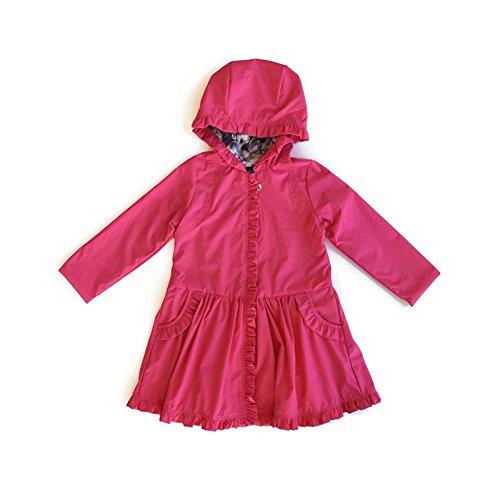 Isobella-Chloe-Big-Girls-Fuchsia-Front-Zipper-Ruffles-Hood-Coat-7-12