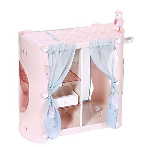 Zapf Creation 700907 - Baby Annabell Sweet Dreams 2-in-1Cabinet