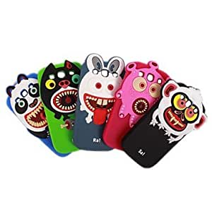 HJZ Vampiyan Kids Gel Soft Back Case Cover for Samsung Galaxy S3 I9300(Blue/Green/Black/Gray/Rose) , Green