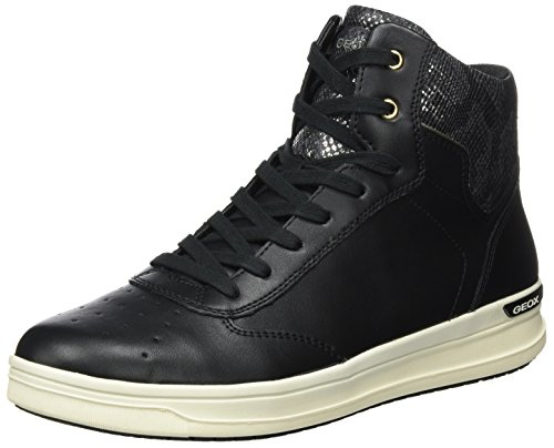Noir Aveup J black Mixte Baskets Hautes C Adulte Geox 05nxBd0