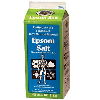 Horse Epsom Salt Equine Label 4 Lb by Epsom Salt Plus