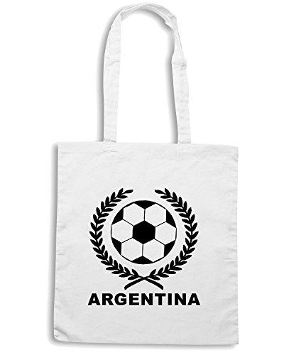 T-Shirtshock - Bolsa para la compra WC0020 ARGENTINA Blanco