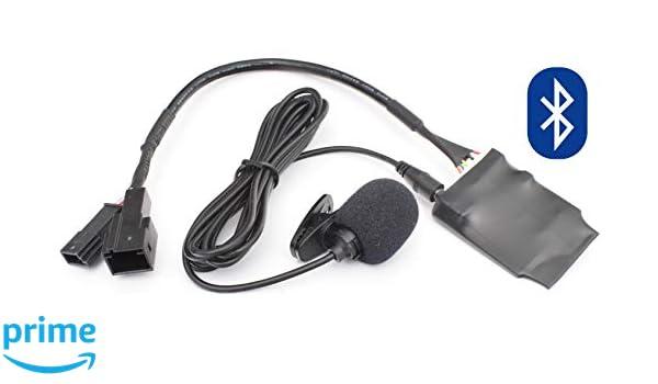 Manos Libres con Bluetooth Pin Plano de 40 Pines Quadlock New Generation Radio Adaptador de m/úsica Adecuado para BMW E39 E53 X5 Z4 E83 X3
