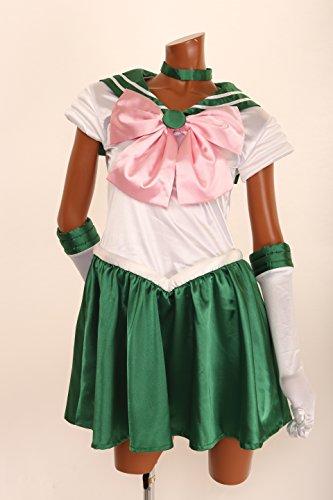 美少女戦士セーラームーン セーラージュピター HENSHIN! なりきりコスチューム コスチューム レディース