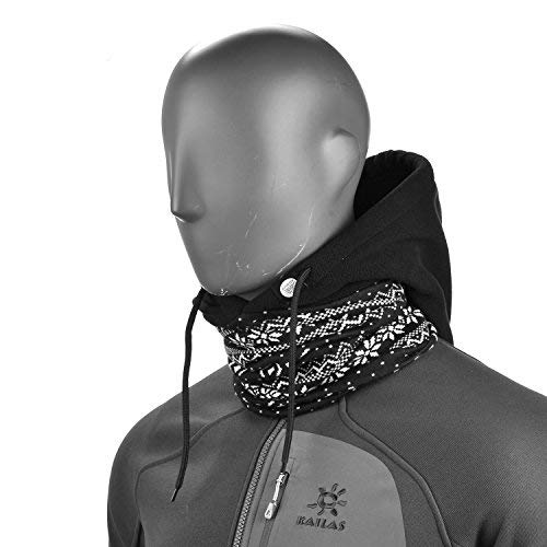 Cyclisme Sports dhiver Toison thermique coupe-vent pour Temps Froid Ski Noir Snowboard Moto Courir Topnaca Face Cover Neck Warmers Hood Mask Balaclava Hat