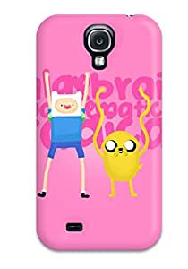 New Style ZippyDoritEduard Hard Case Cover For Galaxy S4- Adventure Time