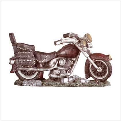 Alabastrite antique motorcycle - Style 29569