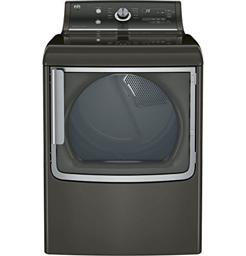 GE GTD81ESPJMC 28″ Electric Dryer with 7.8 cu. ft. Capacity in Metallic Carbon Top Price