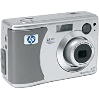 HP PhotoSmart 635 2.1 MP Digital Camera w/3x Optical Cons Review Image