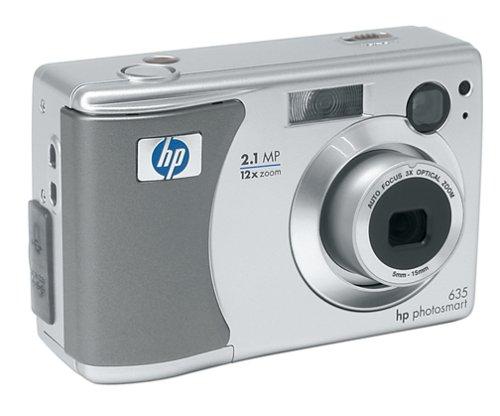 HP PhotoSmart 635 2.1 MP Digital Camera w/3x Optical