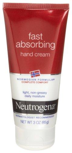 Neutrogena Norwegian Formula Fast Absorbing Hand Cream, 3 Ou