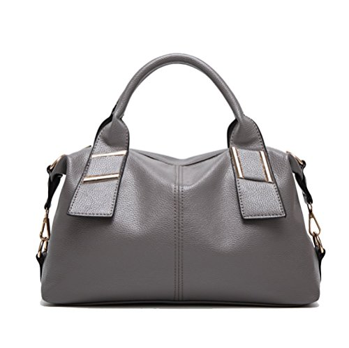 Ajlbt Woman Bag Tide Shoulder Bag Large Capacity European And American Fashion Elegant Gray Messenger Bag
